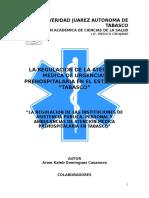 Proyecto Atencion Prehospitalaria