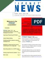 Pipenet News Summer 2008