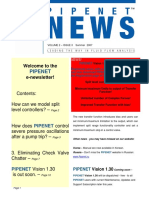 Pipenet News Summer 2007