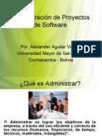 Administración de Proyectos de Software