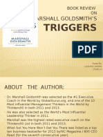 Book review of Marshall Goldsmith'striggers