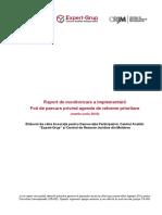 Raport Intermediar Monitorizare Reforme Guvern Martie - Iunie 2016 RO