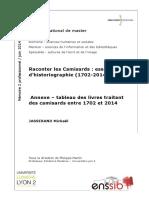 65228 Raconter Les Camisards Essai d Historiographie 1702 2014 Annexes
