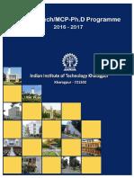 IITKgp JMP  Brochure 2016