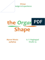 The Organic Shape in Esthetics Design