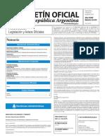 Boletín Oficial de la República Argentina, Número 33.413. 06 de julio de 2016
