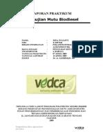 Pengujian Mutu Biodiesel