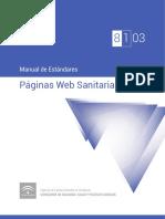 ME 8-1-03 Manual de Estándares Páginas Web Sanitarias