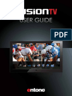 Entone FusionTV User Guide (Web) - Final