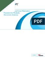 Path Alignment Cross Polarization Parabolic Antennas TP 108827