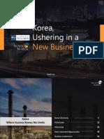 Korea Ushering in a New Business Era