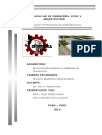 Proyecto Geometrico Aeroportuario - Nataly g.c., Natali s.c.