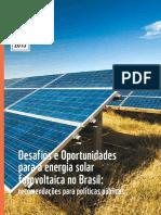 Desafios Energia Solar no Brasil