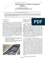 Design and Optimization of Roller Conveyor System