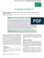 Emerging Concepts in Glaucoma and Review of the Literature