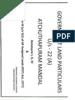 Vizag Govt land documents