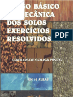 Curso Básico de Mecânica Dos Solos Com Exercícios Resolvidos c.s. Pinto