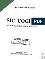 Bogdan Petriceicu Hasdeu_Sic-Cogito