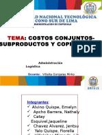 Sistema de Costos Conjuntos Oficial