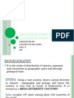 Biogeographical Classification of India