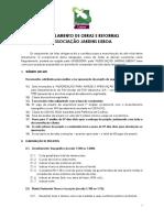 Regulamento de Obras e Reformas