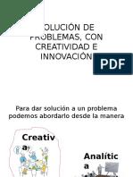 Solución de Problemas, Con Creatividad e Innovación