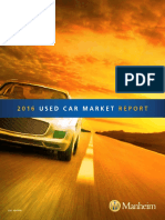 2016 Used Car Market Report (Manheim)