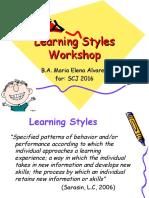tip - learning styles workshop scj 2016