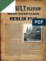 Assault Platoon - Battle Book Berlino