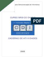 Caderno de Atividades Da EIC - Dez05