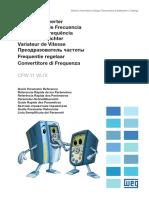 WEG Cfw11 Referencia Rapida de Los Parametros 10001800333 5.1x Guia Rapido Espanol