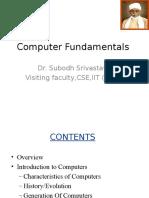 Computer Fundamentals by Dr. S Srivastava..