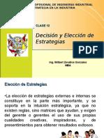 Clase 12 - Decisión y Elección de Estrategias