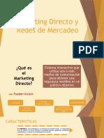 Marketing Directo y Redes de Mercadeo