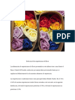 Evolución Del Mercado de Flores a Estados Unidos
