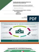 LOS PRINCIPALES ASPECTOS O RASGOS QUE CARACTERIZAN LA REFORMAProducto 1.1 Sesión 1 Yes
