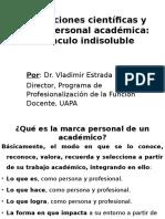 Publicaciones Científicas y Marca Personal Académica_Dr. Vladimir Estrada