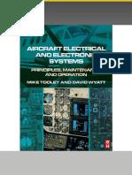 飞机电气与电子系统:原理,维护和操作Aircraft Electrical and Electronic Systems Princ.