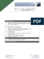 Diagnostic ISO20000