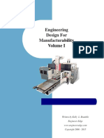 Engineering Design for Manufacturability Vol I