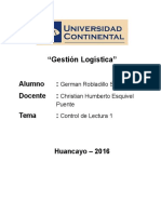 CL1 GermanRobladillo Gestion Logistica