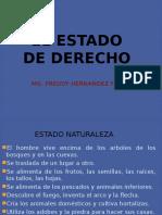 EL ESTADO DE DERECHO