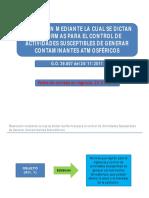 Presentaciòn de La Resoluciòn Del Ministerio de Salud No 0132 Del 16112011