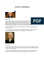Famous Quotations on Banking