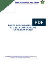Panel Fotorafico Chacaneque