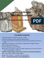 Musica e Liturgia Nell'alto Medioevo