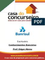 Apostila Banrisul 2015 Confedital Conhecimentosbancarios Edgarabreu