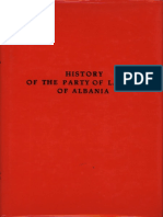 History of the Party of Labour of Albania Second Edition Eng