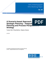A Scenario-based Approach to Strategic Planning !!!