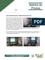 Boletín de Prensa Abril 2016
